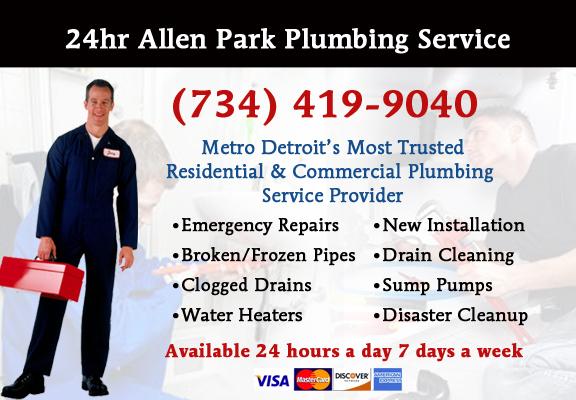 Allen Park Plumber Service