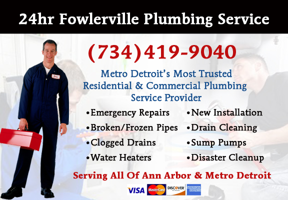 Fowlerville Plumber Service