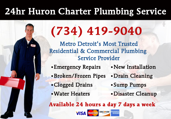 Huron Charter Township Plumber Service